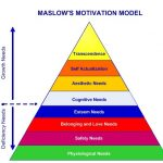 Maslow's eight tier motivational model